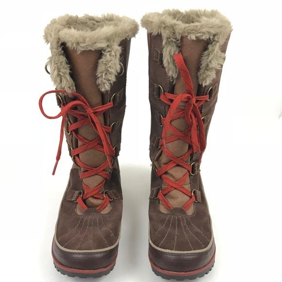 Sorel Tivoli High Ii Brown Snow Boots